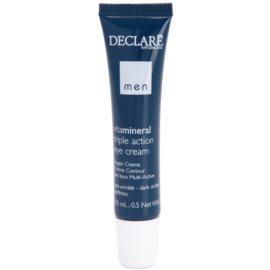 Declaré Men Vita Mineral krem pod oczy przeciw zmarszczkom, opuchnięciom i cieniom pod oczami  15 ml