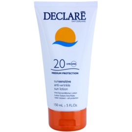 Declaré Sun Sensitive mleczko do opalania SPF 20  150 ml