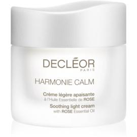Decléor Harmonie Calm lehký zklidňující krém pro citlivou pleť  50 ml