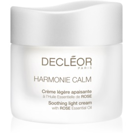 Decléor Harmonie Calm Soothing Light Cream with Rose Essential Oil 50 ml