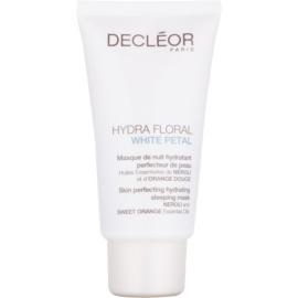 Decléor Hydra Floral White Petal zdokonalující a hydratační maska na noc  50 ml