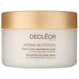 Decléor Aroma Nutrition gazdagon tápláló krém testre  200 ml
