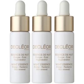 Decléor Night Essence intensive Nachtpflege zur Festigung der Haut  3 x 7 ml