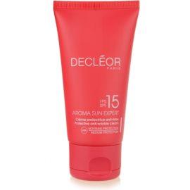 Decléor Aroma Sun Expert opalovací krém na obličej SPF 15  50 ml