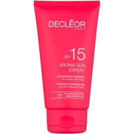 Decléor Aroma Sun Expert Hydraterende Bruiningsmelk  SPF 15  150 ml