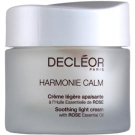 Decléor Harmonie Calm лек успокояващ крем за чувствителна кожа на лицето  50 мл.