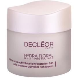 Decléor Hydra Floral reichhaltige feuchtigkeitsspendende Creme für normale und trockene Haut  50 ml