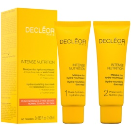 Decléor Intense Nutrition Hydra-Nourishing Duo Mask 2 x 25 ml