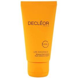 Decléor Life Radiance mascarilla iluminadora para todo tipo de pieles  50 ml