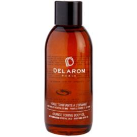 Delarom Body Care pomerančový tónovací tělový olej  100 ml