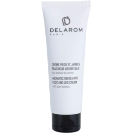 Delarom Body Care crema refrescante aromática para pies con extractos vegetales  125 ml