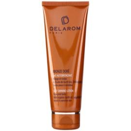 Delarom Bronze Doré Selbstbräuner-Milch Für Gesicht und Körper  125 ml