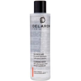 Delarom Cleaning and Removing reinigendes Gesichtswasser mit Pfingstrosen-Softer  200 ml