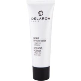 Delarom Essential mascarilla facial exfoliante de arcilla rosa  50 ml