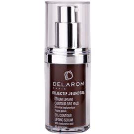 Delarom Lifting sérum com efeito lifting para contornos dos olhos com ácido hialurônico com ácido hialurónico  15 ml