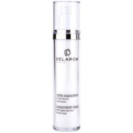 Delarom Moisturizing feuchtigkeitsspendende Gesichtscreme mit organischer Aloe Vera  50 ml