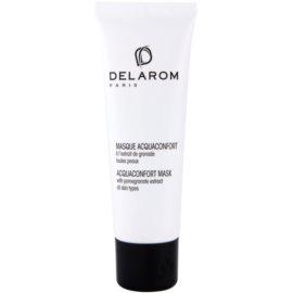 Delarom Moisturizing feuchtigkeitsspendende Gesichtsmaske mit Extrakten aus Granatapfel  50 ml