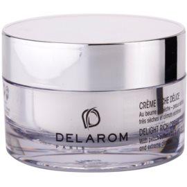 Delarom Revitalizing crema hidratanta cu unt de piersici  50 ml