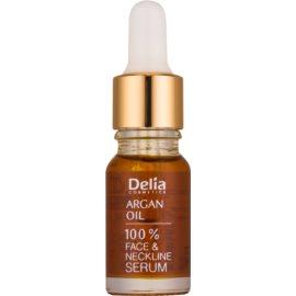 Delia Cosmetics Professional Face Care Argan Oil sérum régénérateur et rajeunissant intense à l'huile d'argan visage, cou et décolleté  10 ml