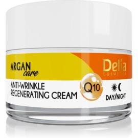 Delia Cosmetics Argan Care regeneračný protivráskový krém s koenzýmom Q10  50 ml