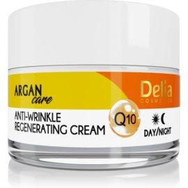 Delia Cosmetics Argan Care Regenerierende Anti-Falten-Creme mit dem Coenzym Q10  50 ml