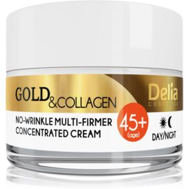 Delia Cosmetics Gold & Collagen 45+ Anti-Wrinkle Firming Cream  50 ml