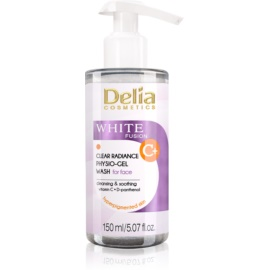 Delia Cosmetics White Fusion C+ Cleansing Gel For Skin With Hyperpigmentation  150 ml