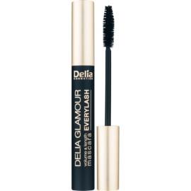 Delia Cosmetics Glamour řasenka pro objem, délku a oddělení řas odstín Black 11 ml
