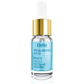 Delia Cosmetics Professional Face Care Hyaluronic Acid intenzivni serum za zapolnitev gub s hialuronsko kislino za obraz, vrat in dekolte  10 ml