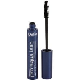 Delia Cosmetics Pro Aqua Lash voděodolná řasenka odstín Black 10 ml