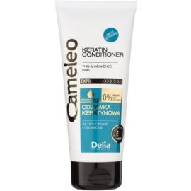 Delia Cosmetics Cameleo BB keratinový kondicionér pro jemné a zplihlé vlasy  200 ml