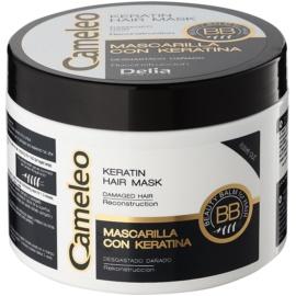 Delia Cosmetics Cameleo BB maseczka keratynowa do włosów zniszczonych  500 ml