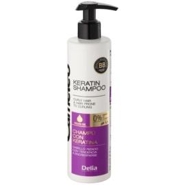 Delia Cosmetics Cameleo BB Sampon cu keratina pentru parul cret  250 ml