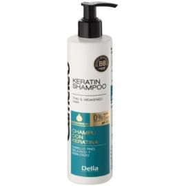 Delia Cosmetics Cameleo BB keratinový šampon pro jemné a zplihlé vlasy  250 ml