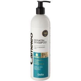 Delia Cosmetics Cameleo BB keratinový šampon pro jemné a zplihlé vlasy  500 ml