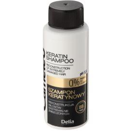 Delia Cosmetics Cameleo BB Shampoo  mit Keratin für beschädigtes Haar  50 ml