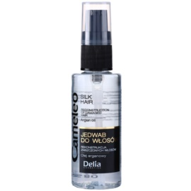 Delia Cosmetics Cameleo BB копринен серум за коса с арганово масло  55 мл.