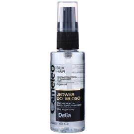 Delia Cosmetics Cameleo BB hedvábné sérum na vlasy s arganovým olejem  55 ml