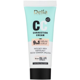 Delia Cosmetics Optical Blur Effect Correction Cream Mattifying CC Cream against Symptoms of Fatigue  30 ml