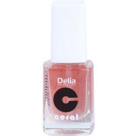 Delia Cosmetics Coral condicionador para unhas com cálcio  11 ml