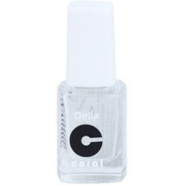 Delia Cosmetics Coral zpevňující lak na nehty s diamantovým práškem  11 ml