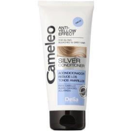 Delia Cosmetics Cameleo Silver kondicionér pro blond a šedivé vlasy neutralizující žluté tóny  200 ml
