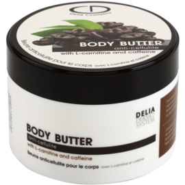 Delia Cosmetics Dermo System telové maslo proti celulitíde  200 ml