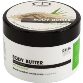 Delia Cosmetics Dermo System manteca corporal hidratante con extracto de arroz  200 ml