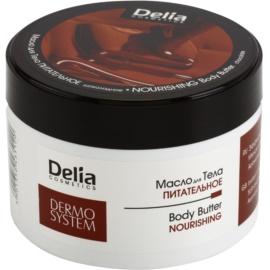 Delia Cosmetics Dermo System nährende Body-Butter mit Shea Butter und Schokolade  200 ml
