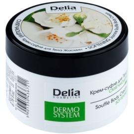 Delia Cosmetics Dermo System crema corporal suavizante con olor a jazmín  200 ml