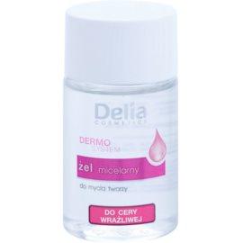 Delia Cosmetics Dermo System čisticí micelární gel pro citlivou pleť  50 ml