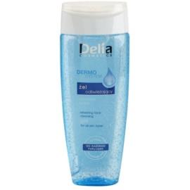 Delia Cosmetics Dermo System gel de limpeza para todos os tipos de pele  200 ml