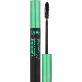 Delia Cosmetics Glamour rimel pentru volum, alungire si separarea genelor culoare Black 12 ml