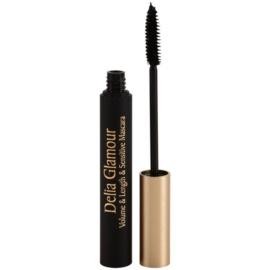 Delia Cosmetics Glamour objemová a prodlužující řasenka pro citlivé oči odstín Black 11 ml